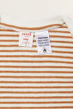 Stripe Zip Coverall  CANVAS  hi-res