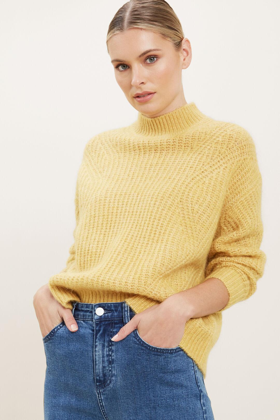 Slouchy Rib Sweater  TUSCAN CLAY MARLE  hi-res