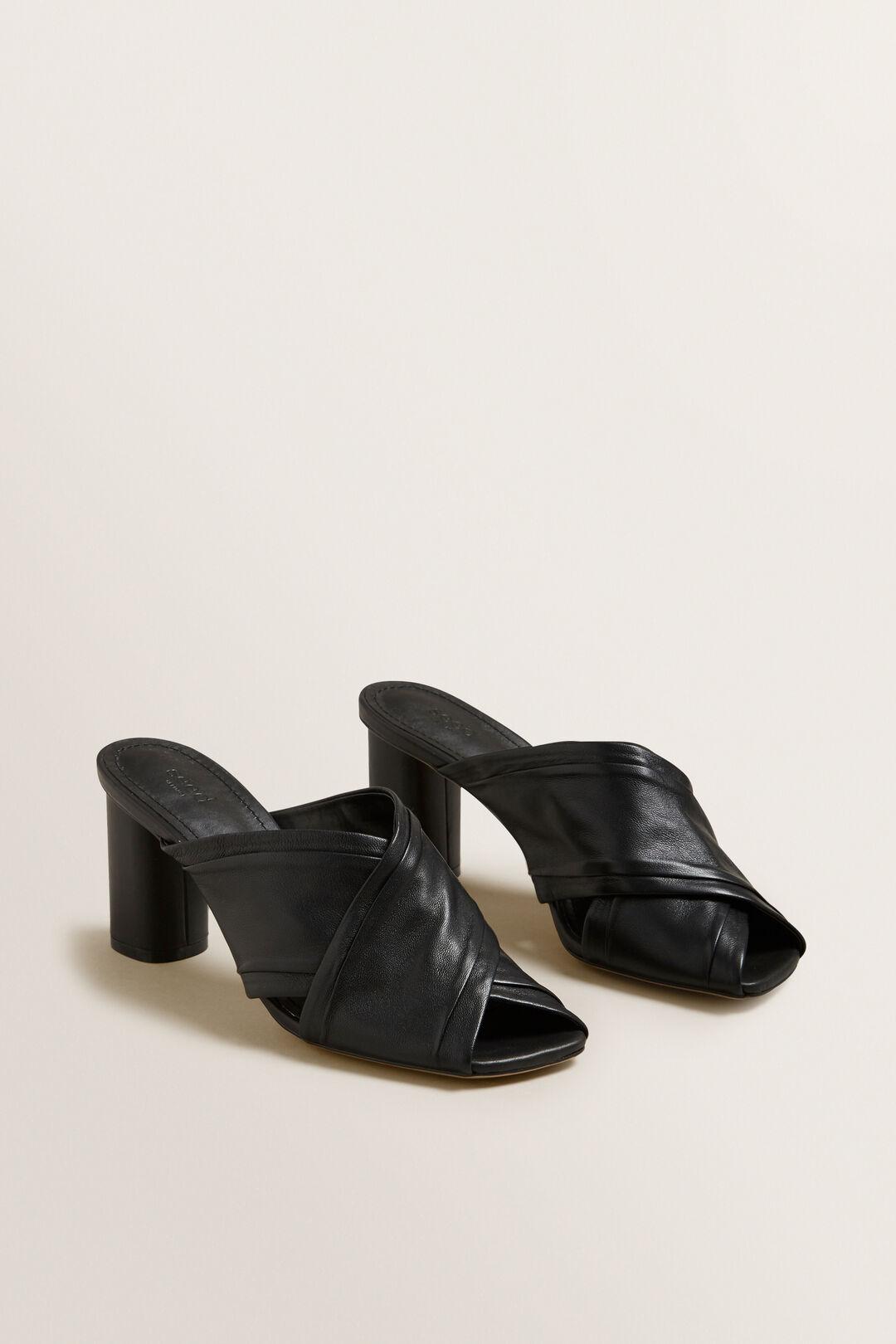 Ava Cross Over Heel  BLACK  hi-res