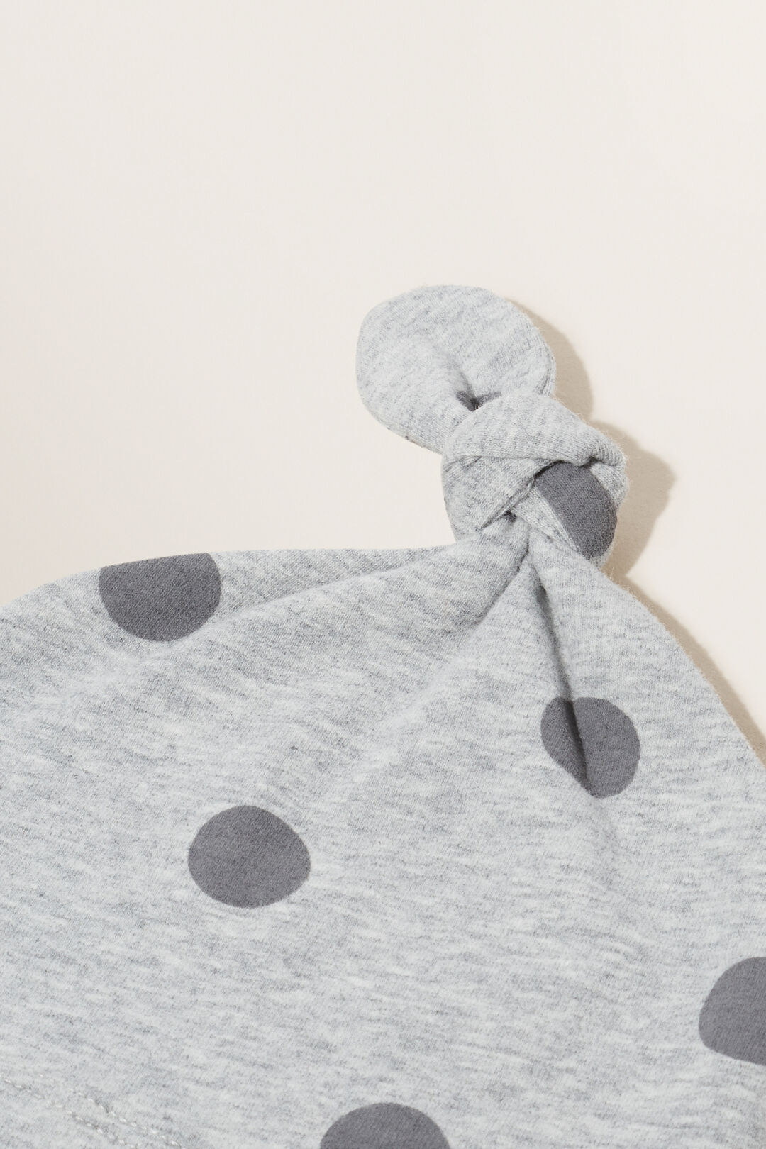 Essential Jersey Knot Hat  BIRCH MARLE  hi-res