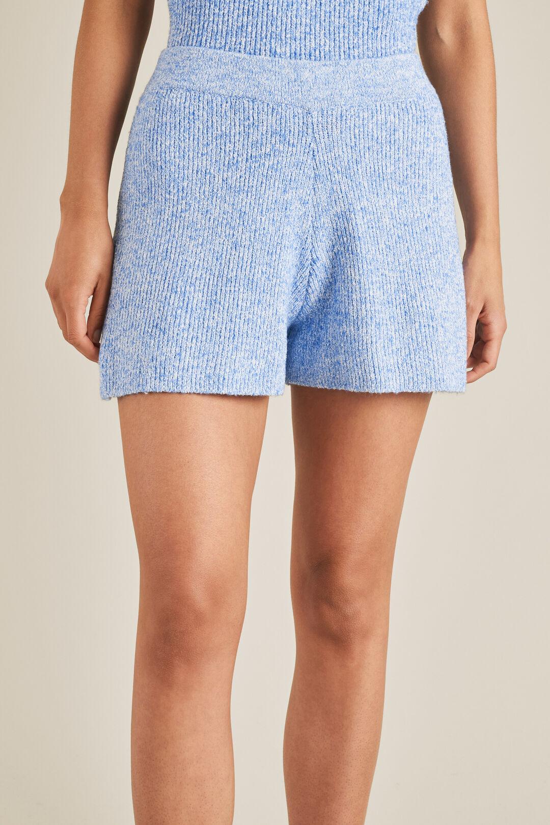 Boucle Knit Short  AZURE BOUCLE  hi-res