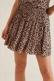 Ocelot Frill Skirt  SIMPLE OCELOT  hi-res