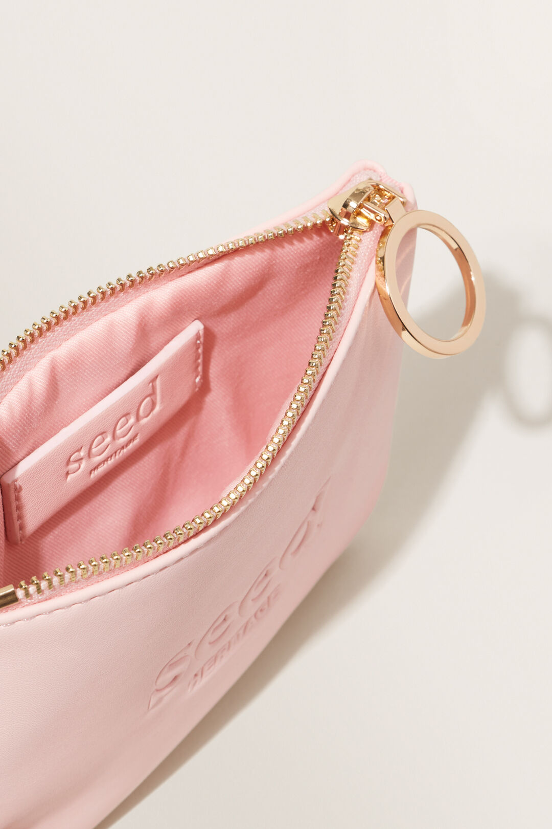 Seed Mini Pouch  ASH PINK  hi-res