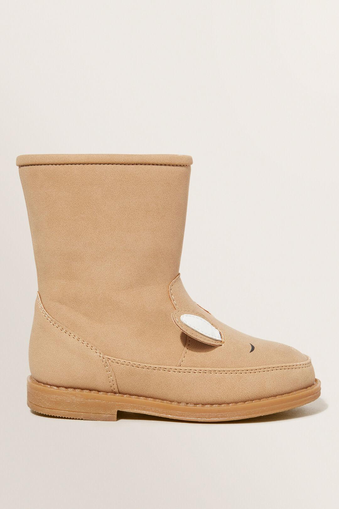 Bunny Boot  TAN  hi-res