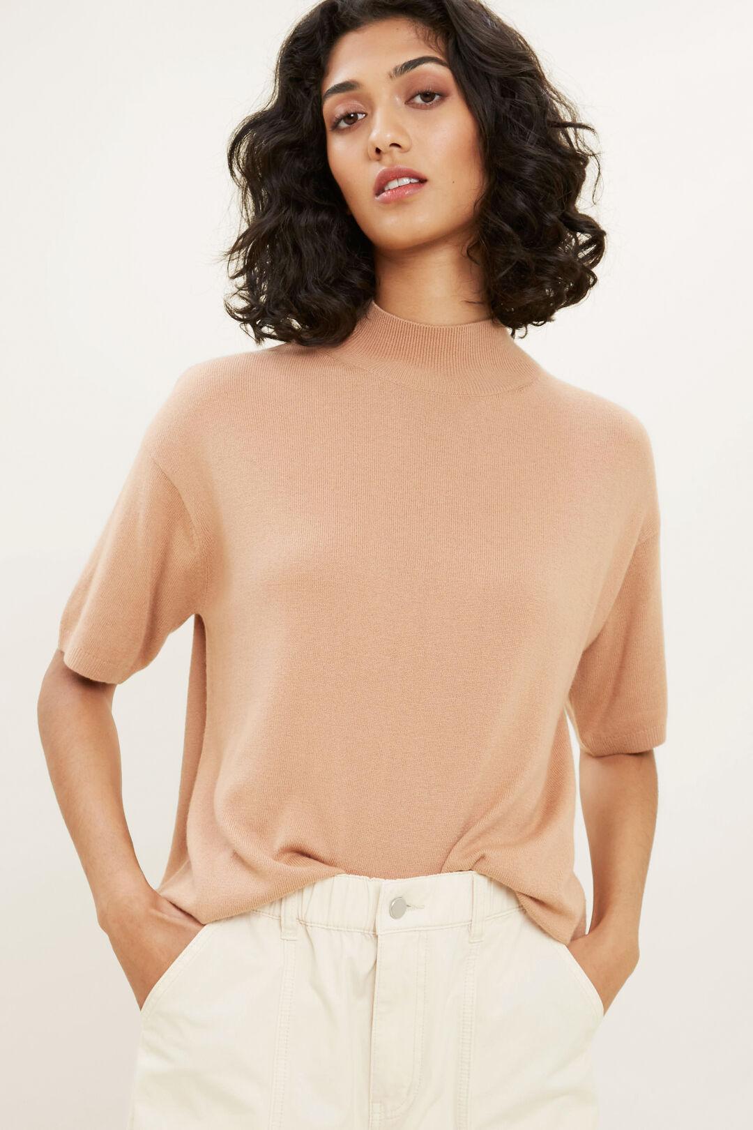 Mock Neck Sweater  PERU  hi-res