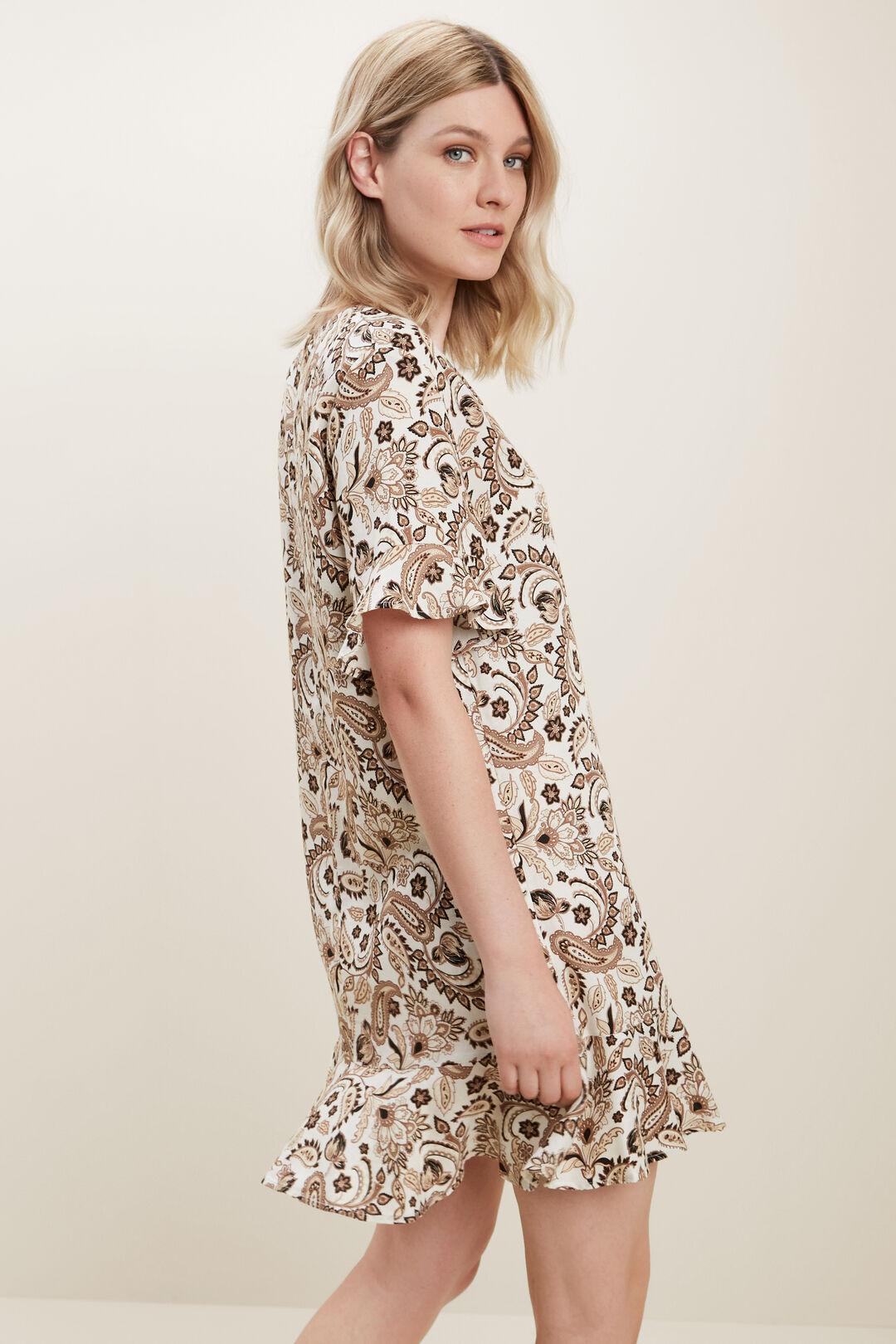 Paisley Flutter Dress  RETRO PAISLEY  hi-res