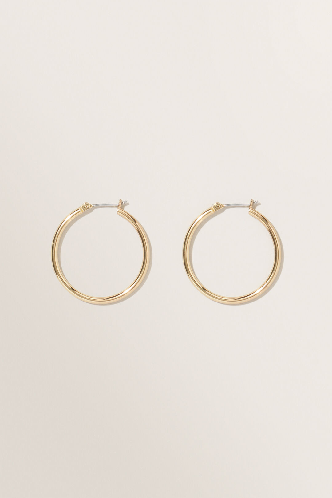 Fine Hoops  GOLD  hi-res