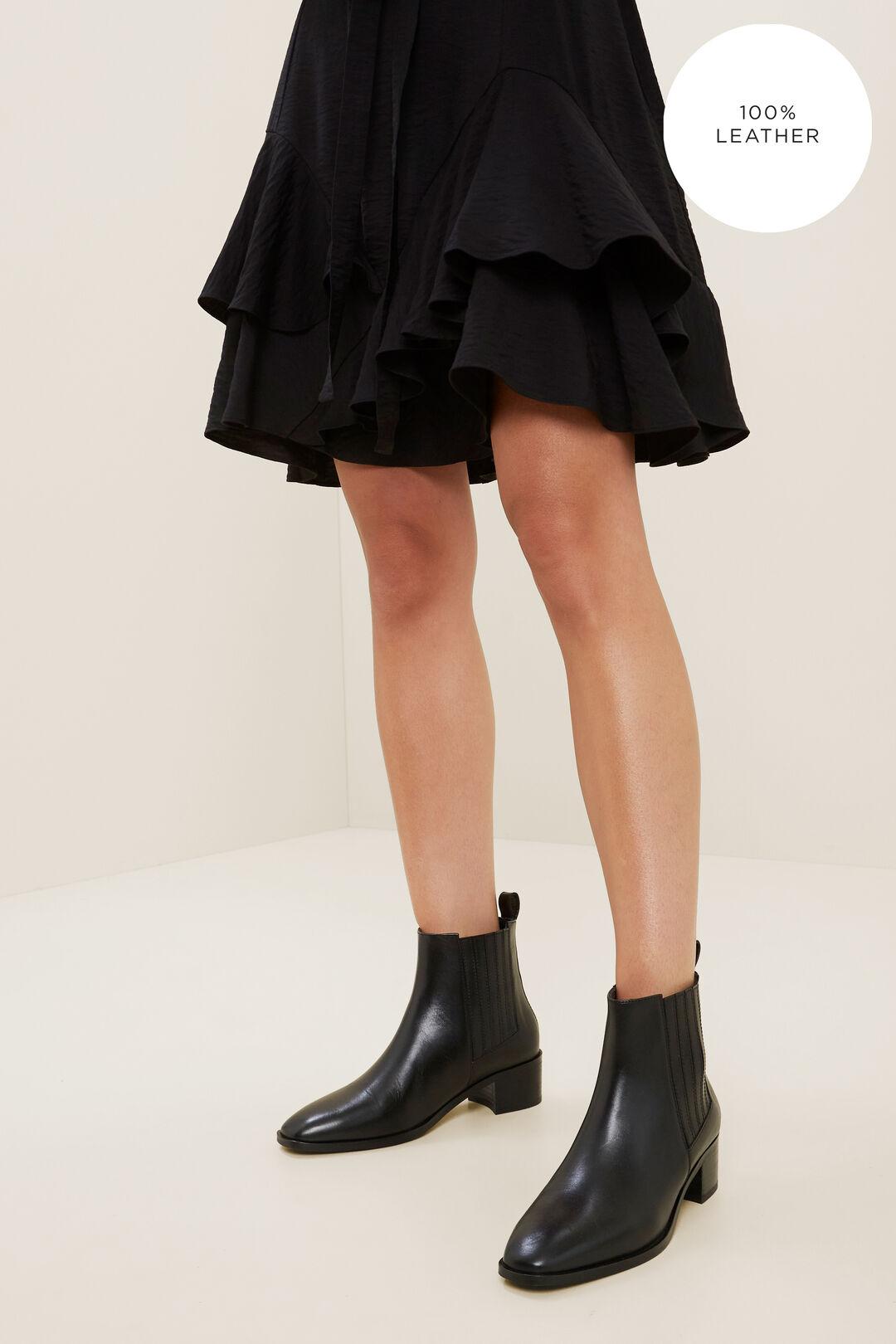 Simone Gusset Boot  BLACK  hi-res