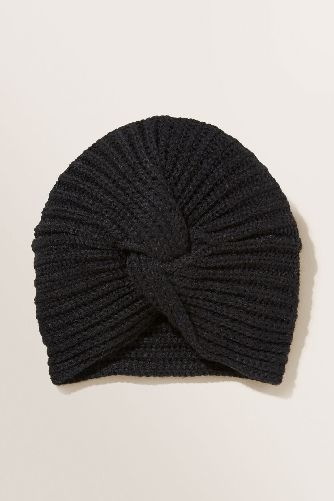 Turban Beanie  BLACK  hi-res