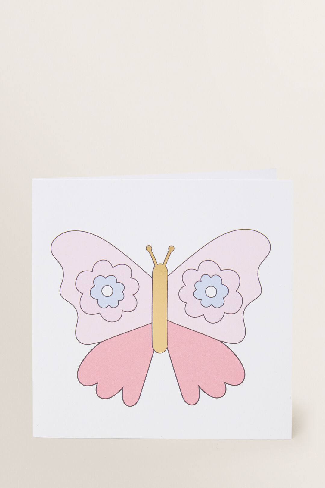 Large Butterfly Card  MULTI  hi-res
