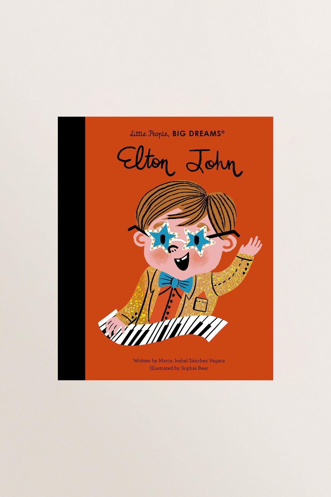 Little People  Big Dreams: Elton John Book  MULTI  hi-res