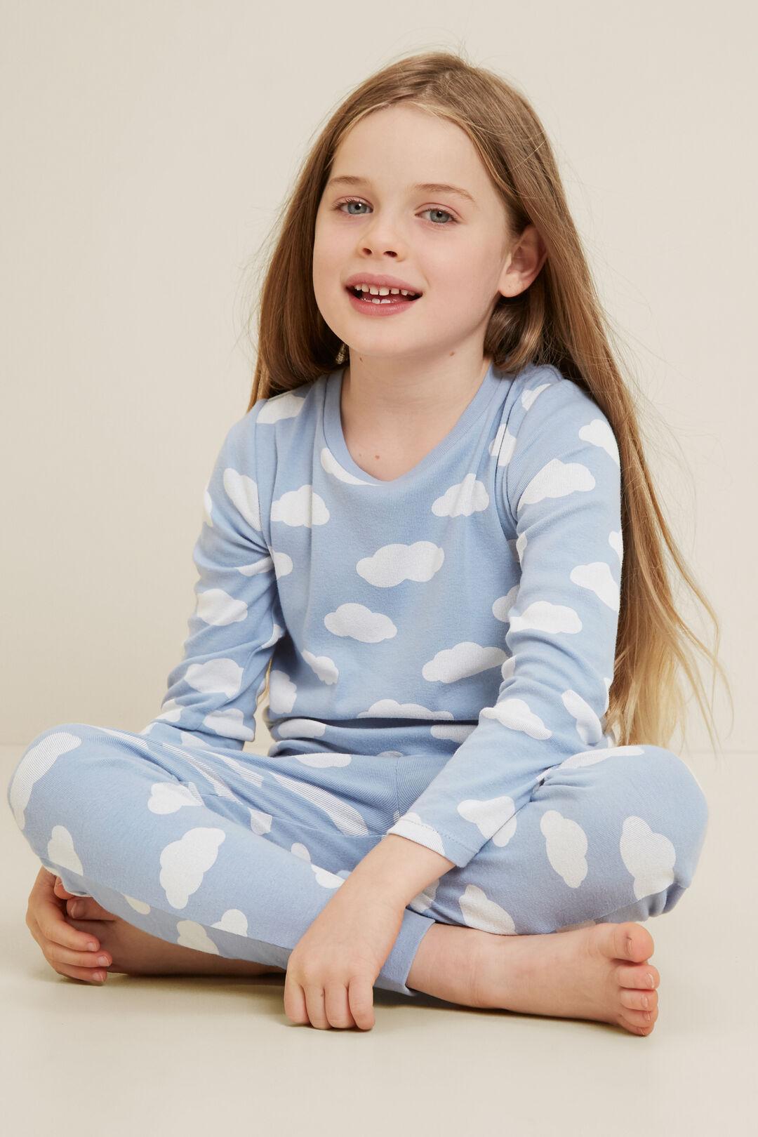 Clouds Pyjamas  ARCTIC BLUE  hi-res