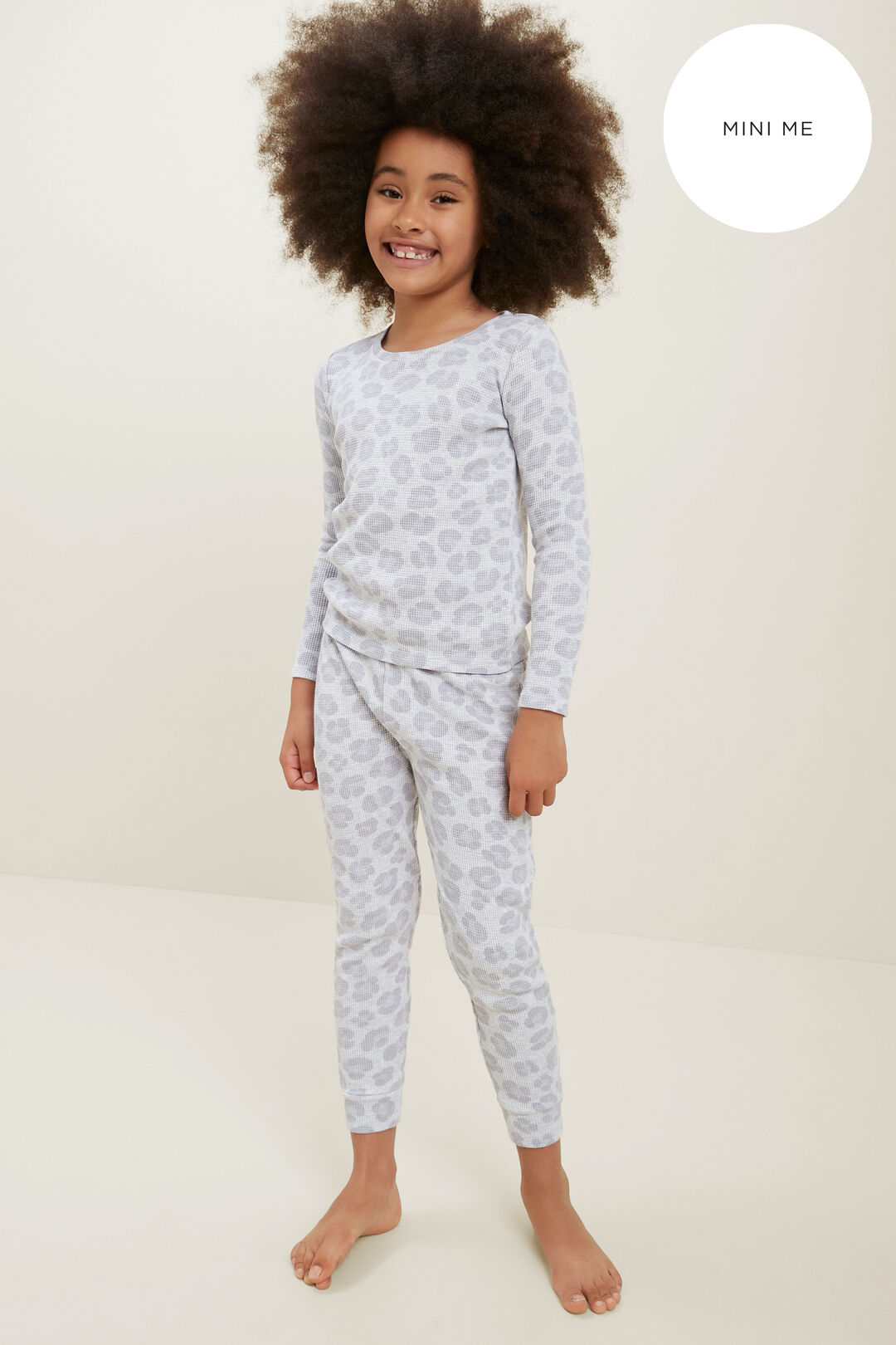 Ocelot Pyjamas  LIGHT GREY MARLE  hi-res