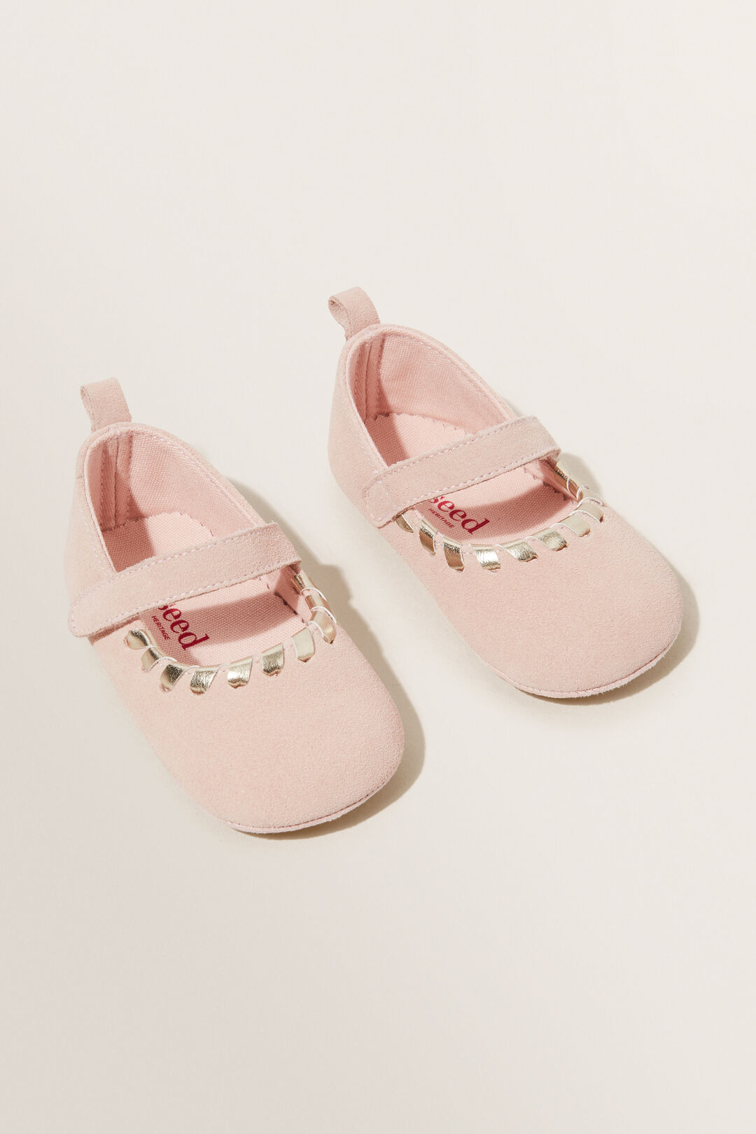 Suede Mary Jane Flat  DUSTY ROSE  hi-res