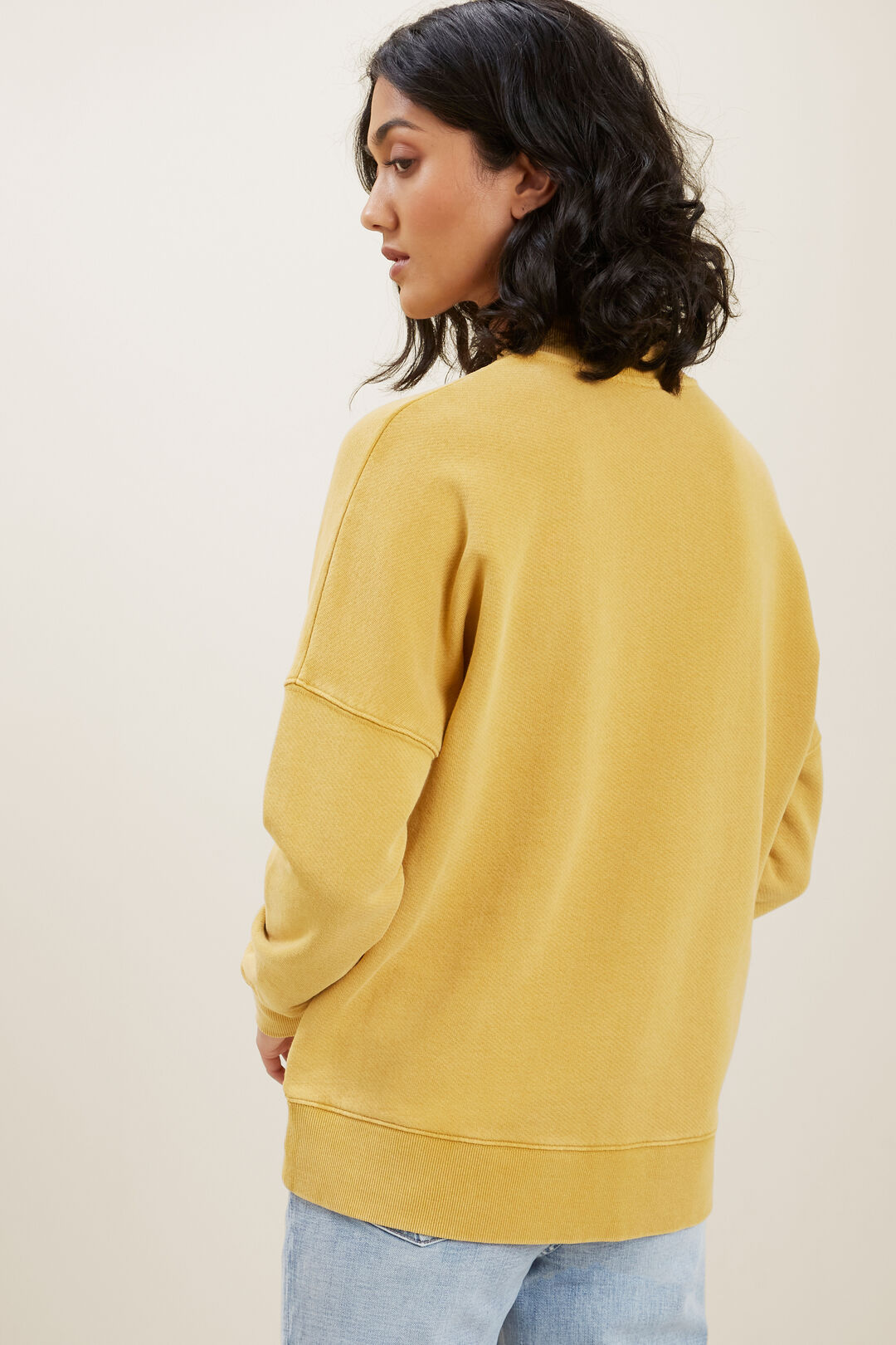 Mock Collar Sweater  TUSCAN CLAY  hi-res