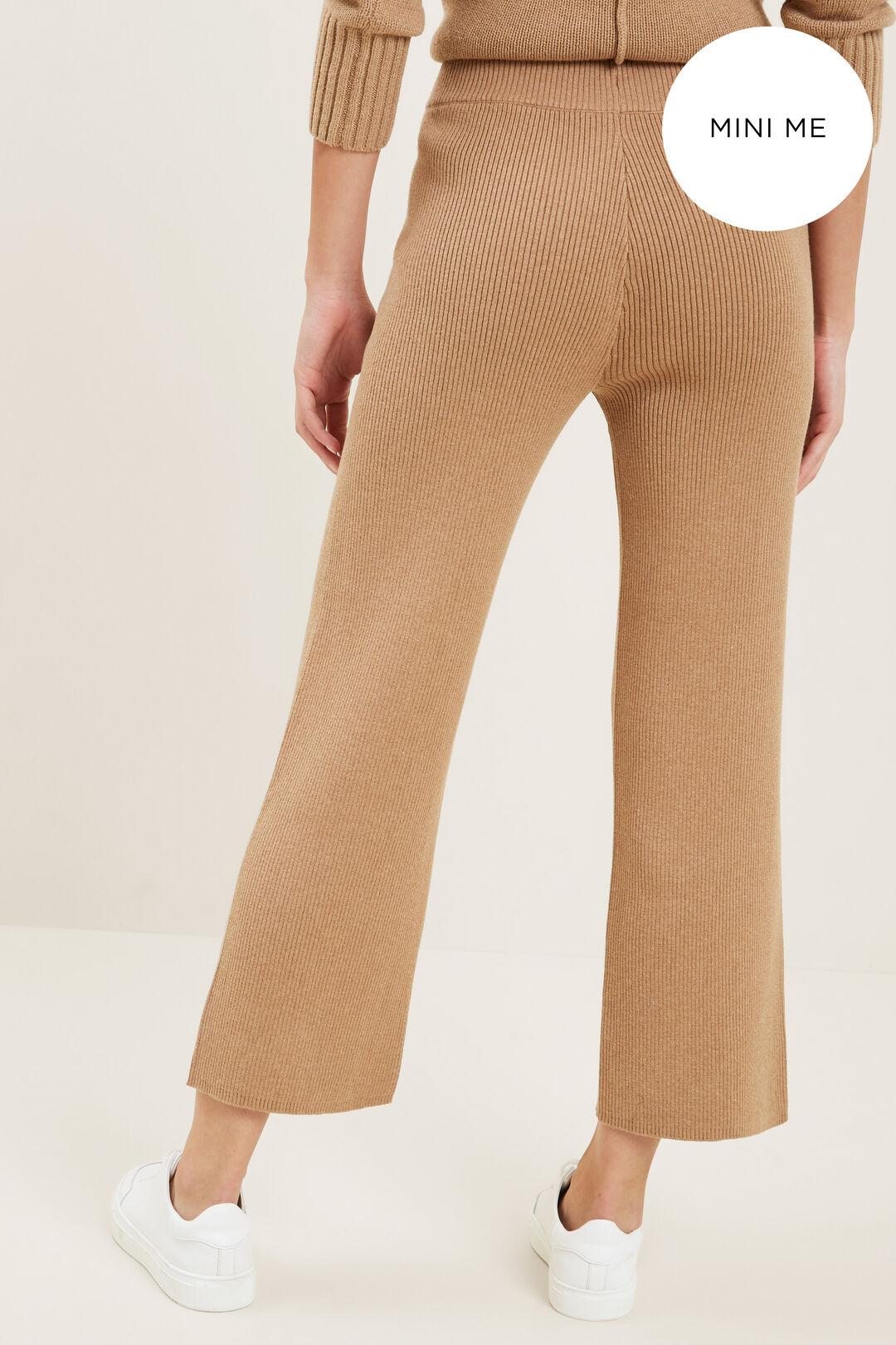 Rib Knit Pants  HONEY DEW MARLE  hi-res