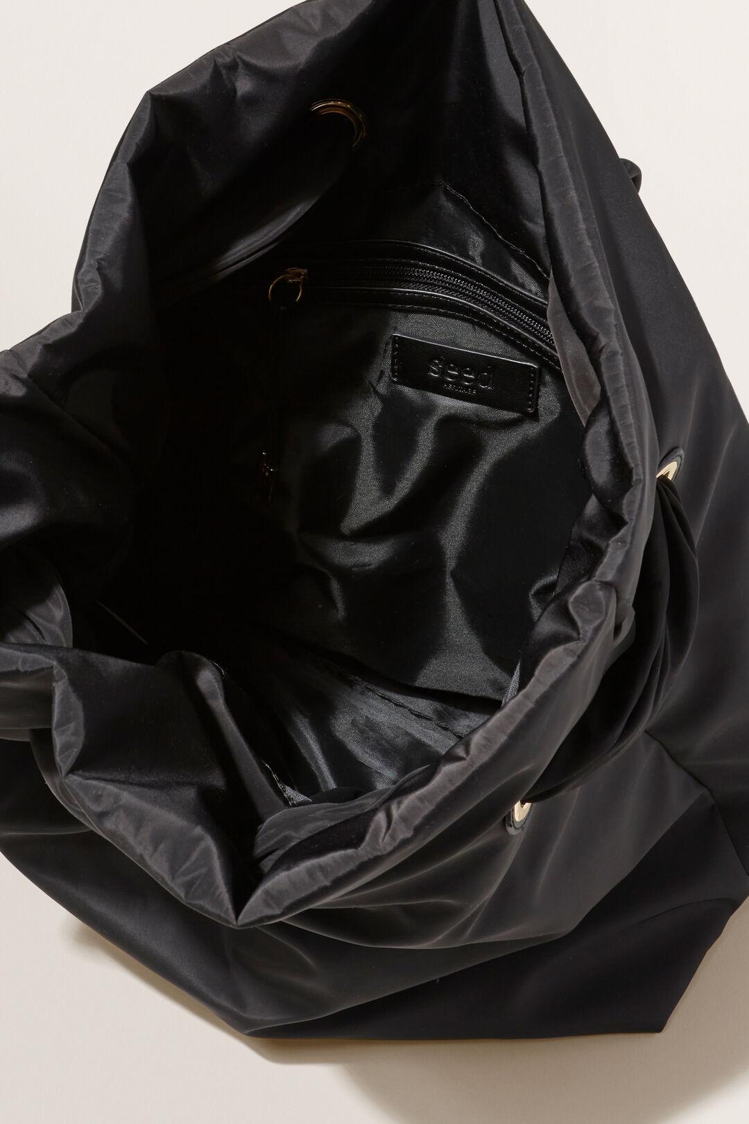 Padded Backpack  BLACK  hi-res