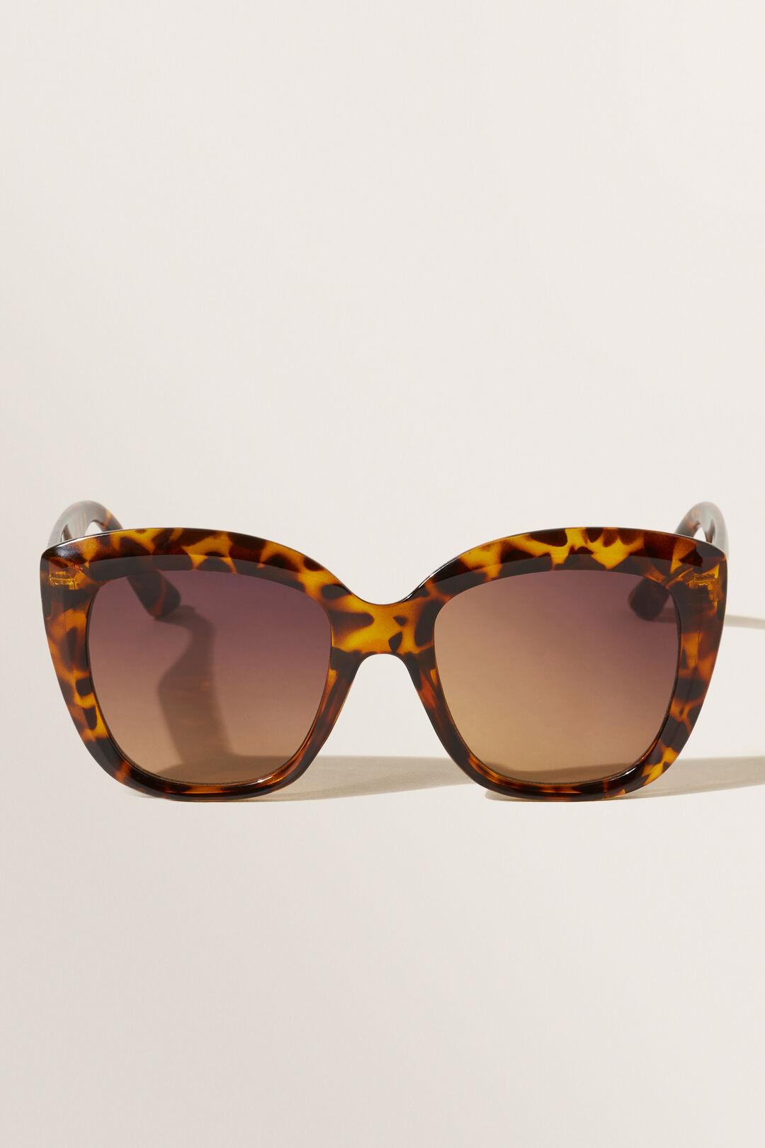 Bella Square Sunglasses  TORT  hi-res