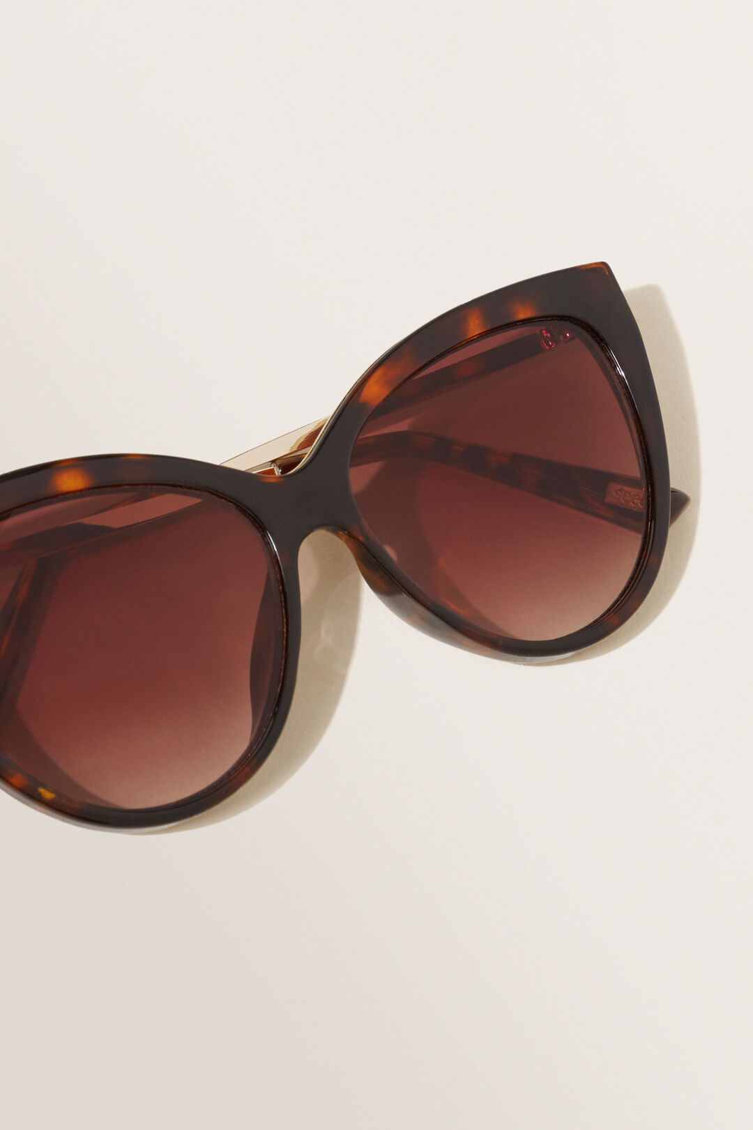 Zoe Cat Eye Sunglasses  TORT  hi-res