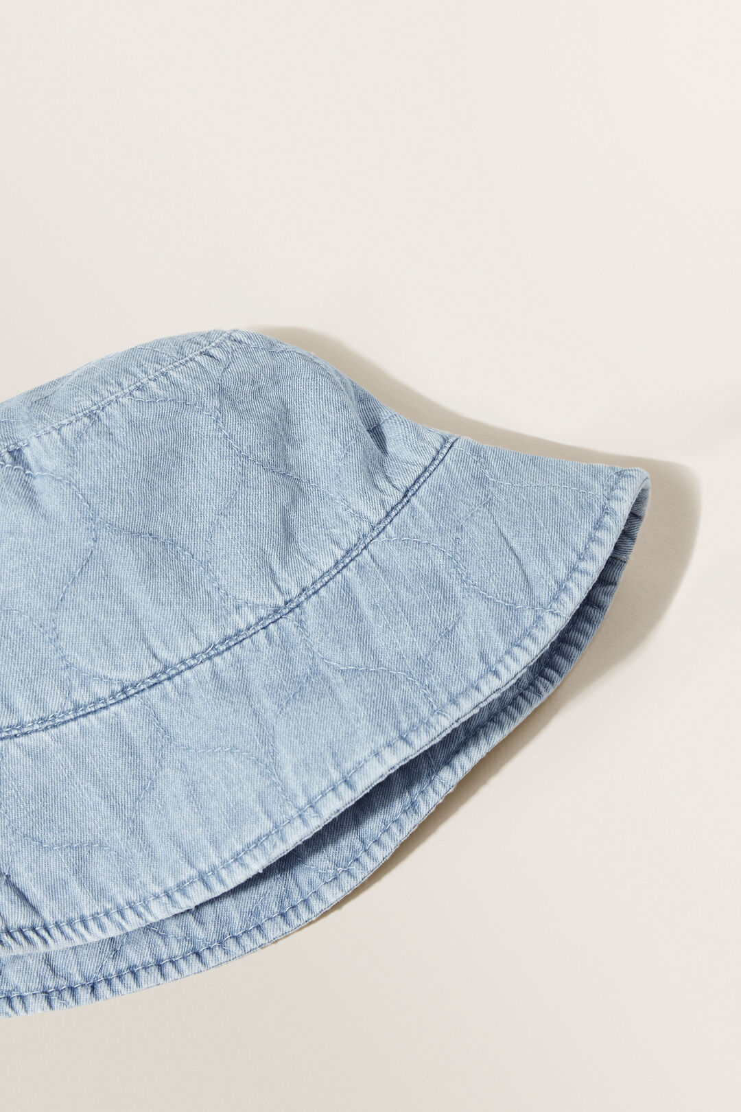 Top Stitch Bucket Hat  DENIM  hi-res
