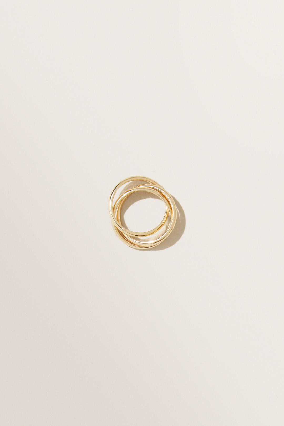 Twisted Ring  GOLD  hi-res
