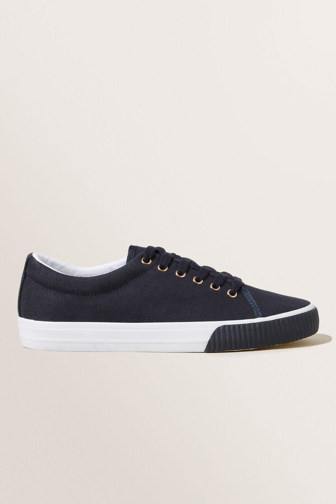 Steph Canvas Sneaker  DEEP NAVY  hi-res