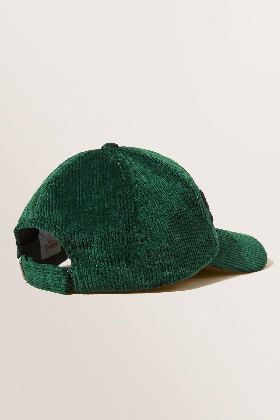 Corduroy Cap  BOTTLE GREEN  hi-res