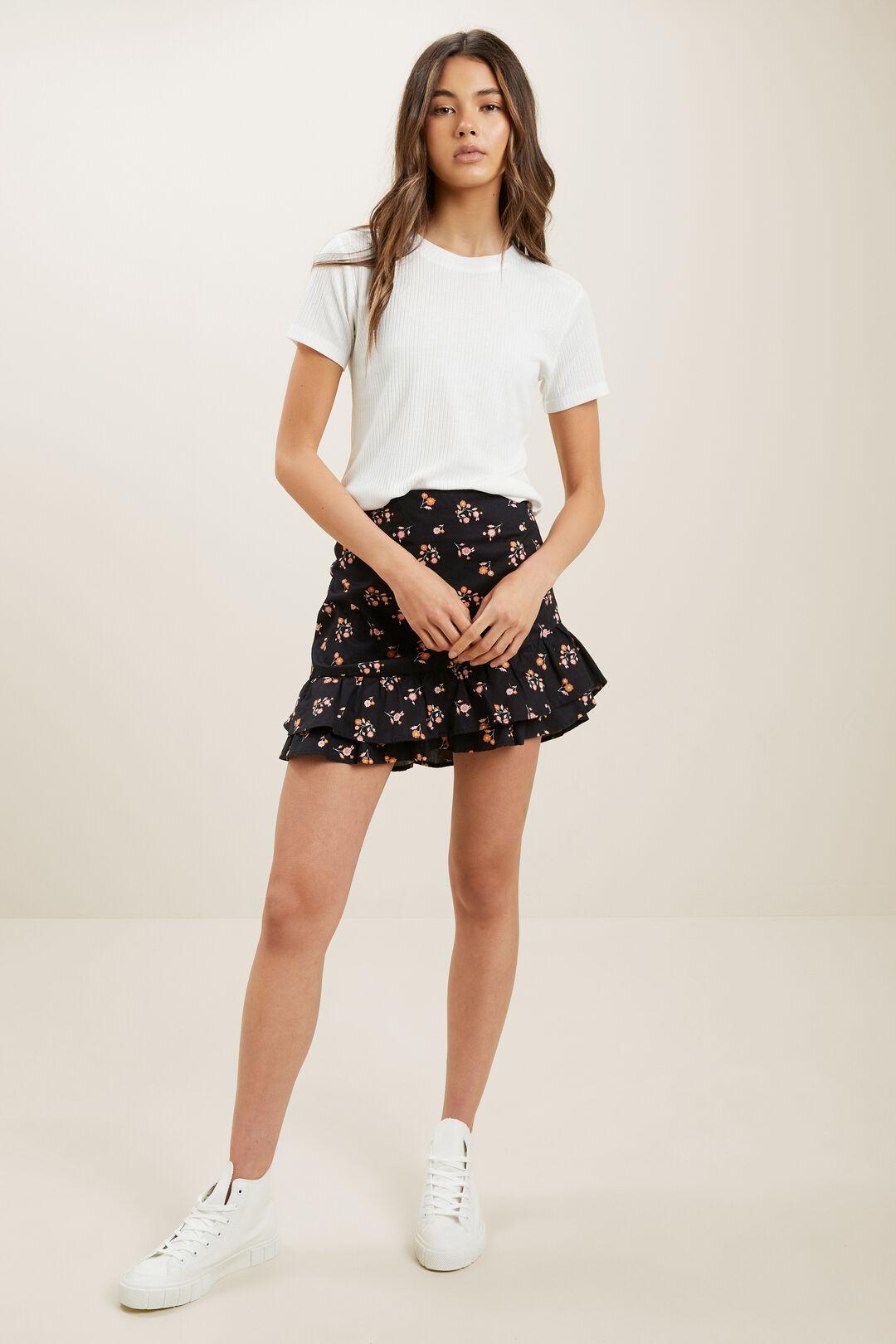 Floral Mini Skirt  MULTI  hi-res