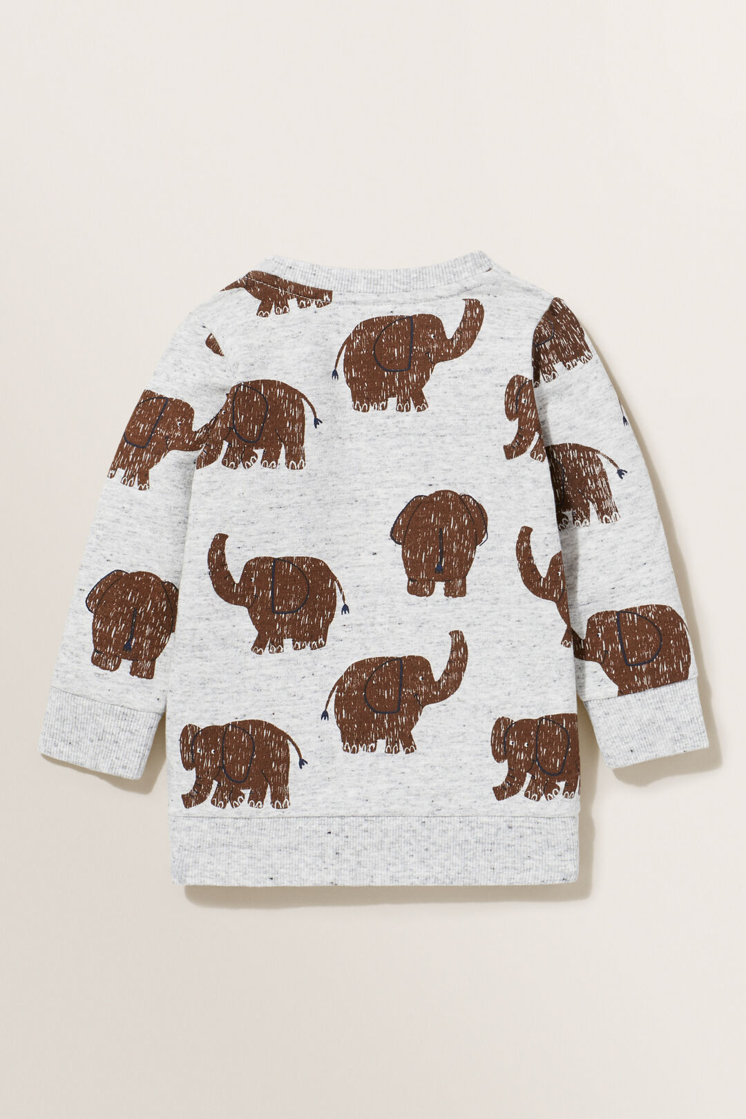 Elephant Sweater  CLOUDY MARLE  hi-res