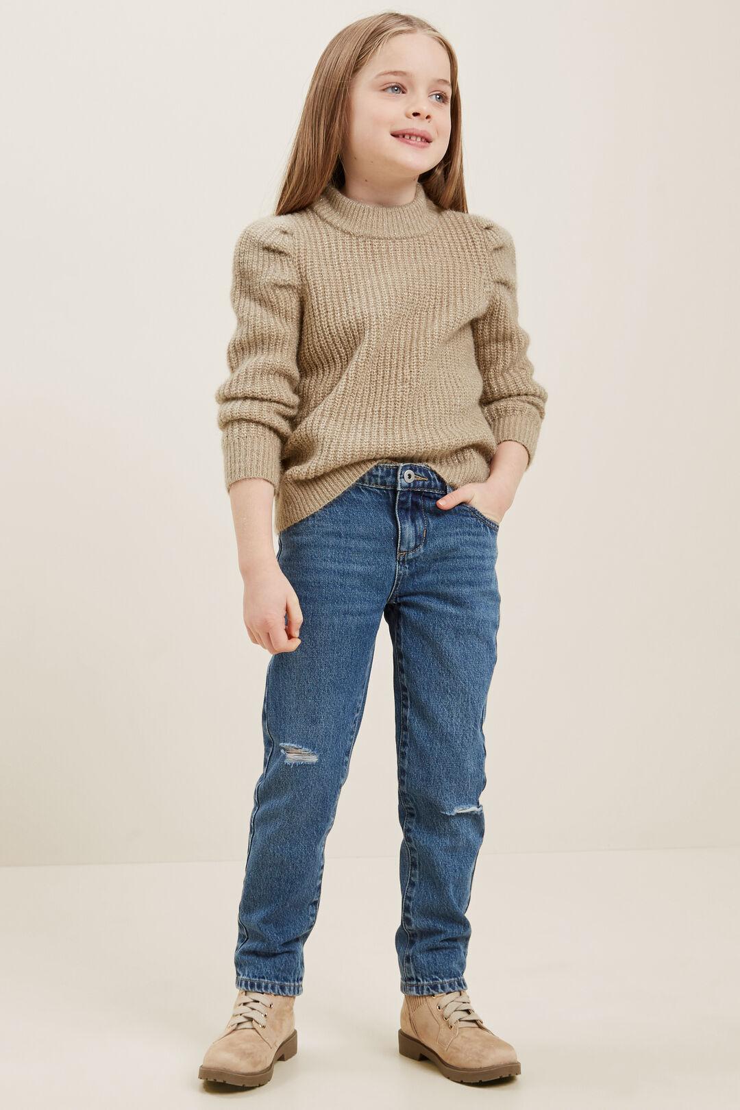 Puff Knit Sweater  CHAI  hi-res