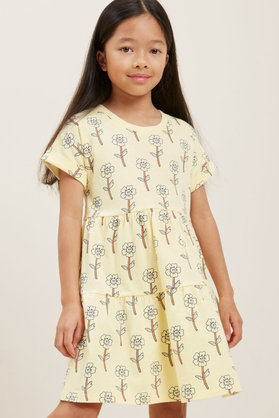 Tiered Daisy Dress  BUTTERCUP  hi-res