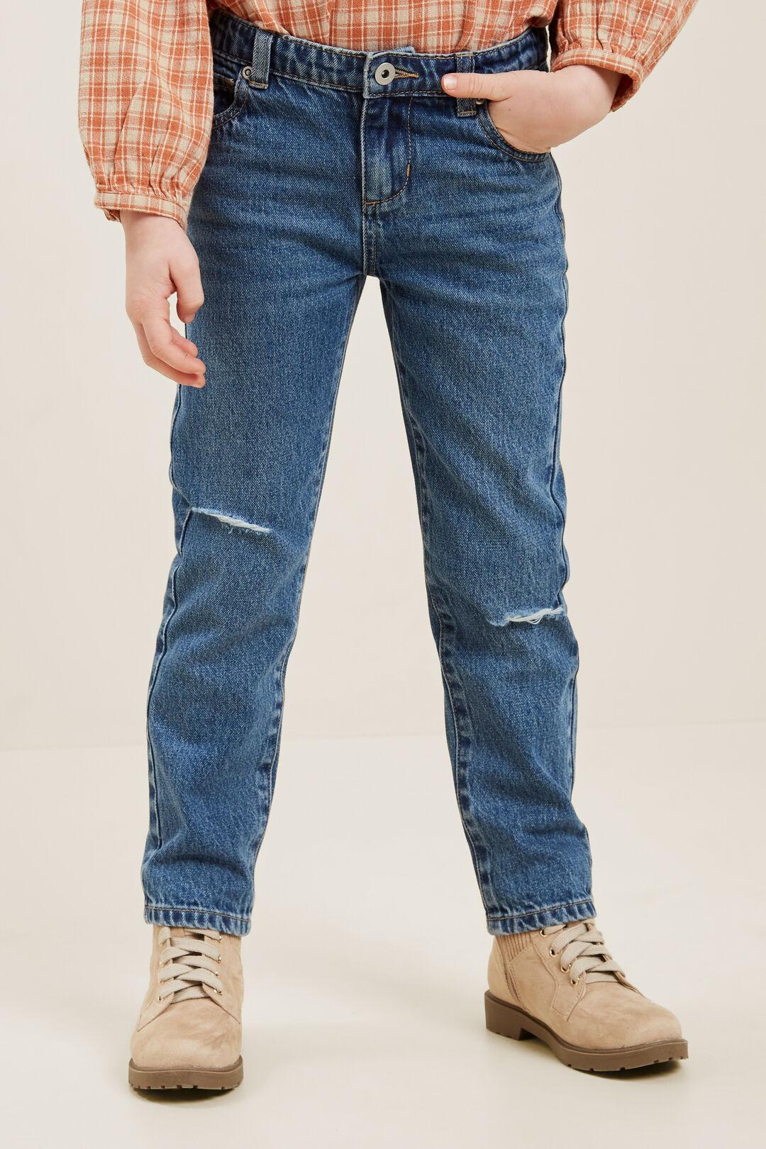 Straight Leg Jean  BRIGHT BLUE WASH  hi-res