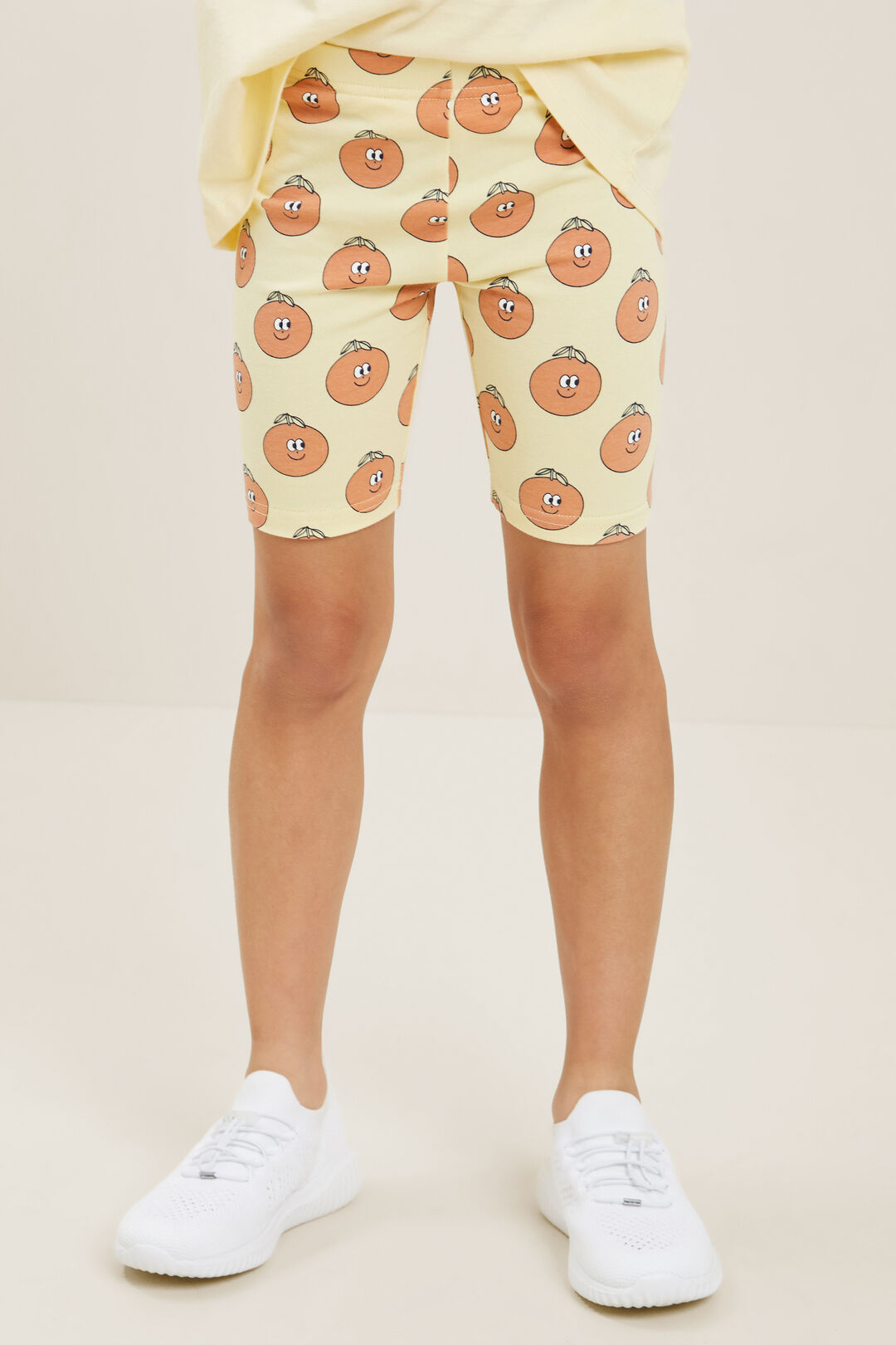 Orange Bike Shorts  BUTTERCUP  hi-res