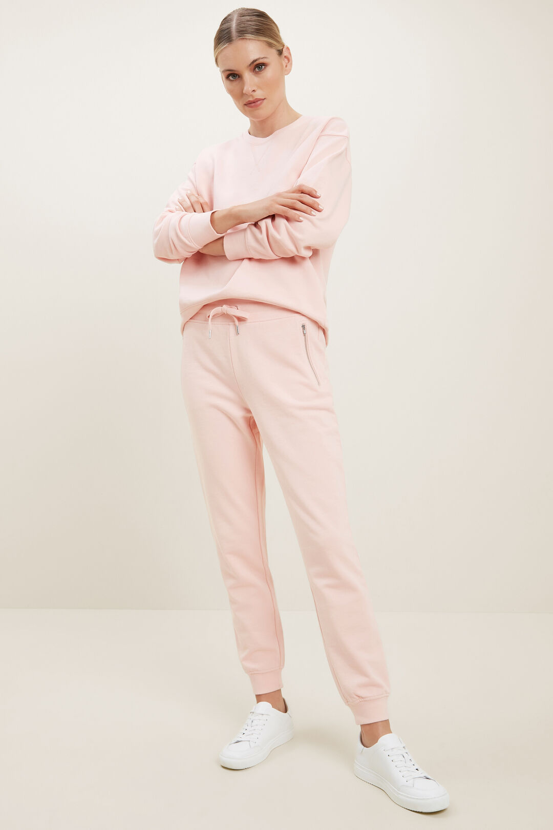 Slouchy Sweater  ASH PINK  hi-res