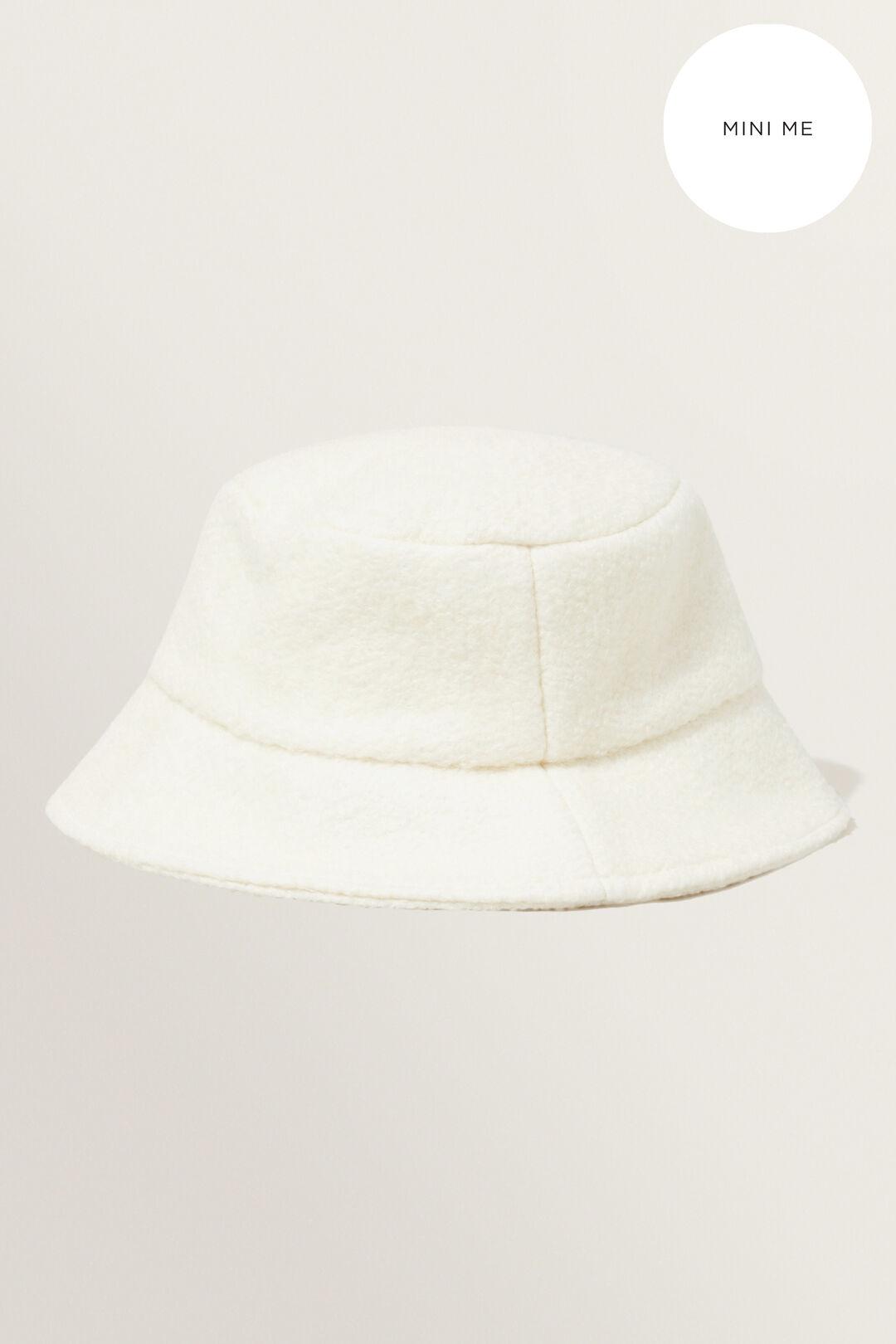 Shearling Bucket Hat  CREAM  hi-res