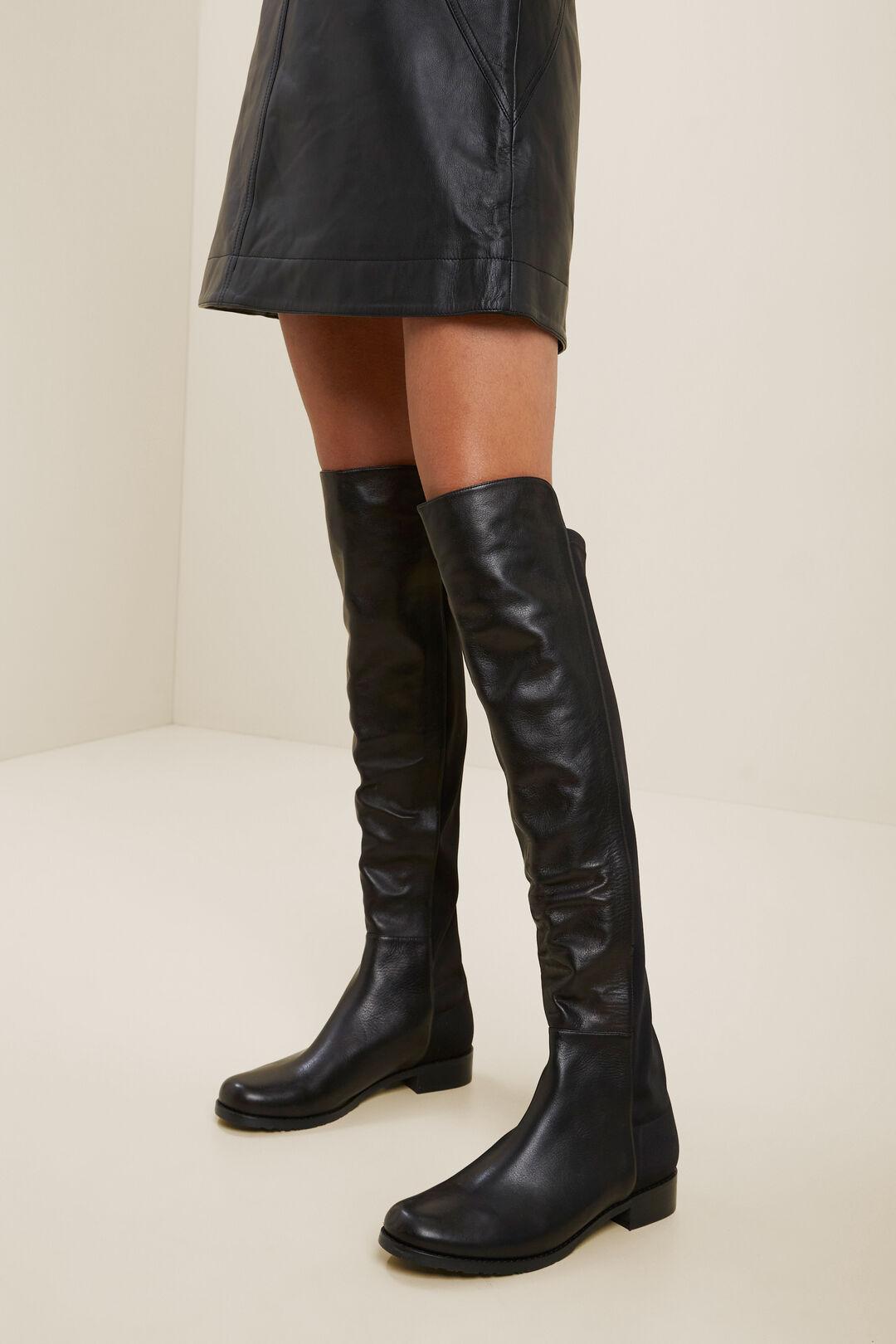 Ruby  Knee High  Boot  BLACK  hi-res