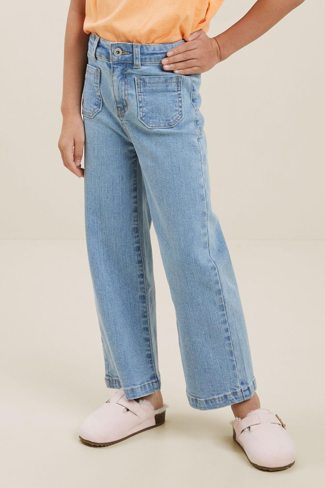 Wide Leg Jeans  CLASSIC WASH  hi-res