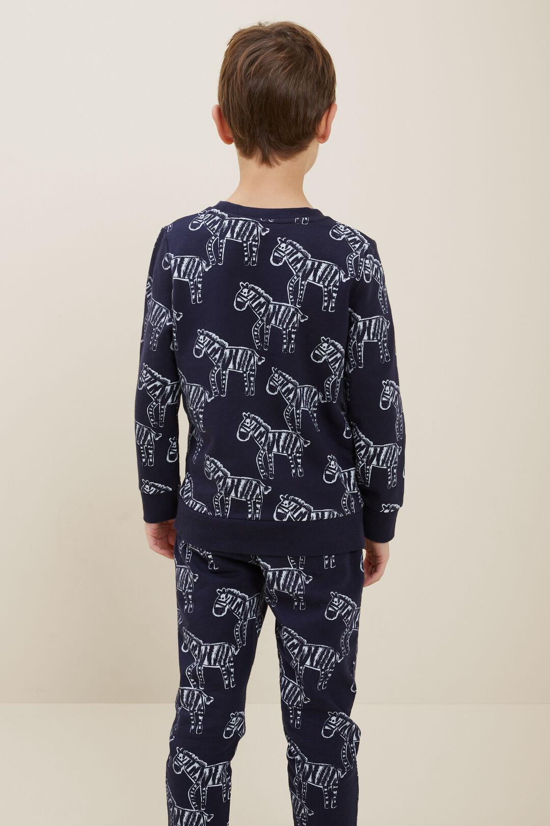 Zebra Sweater  MIDNIGHT BLUE  hi-res