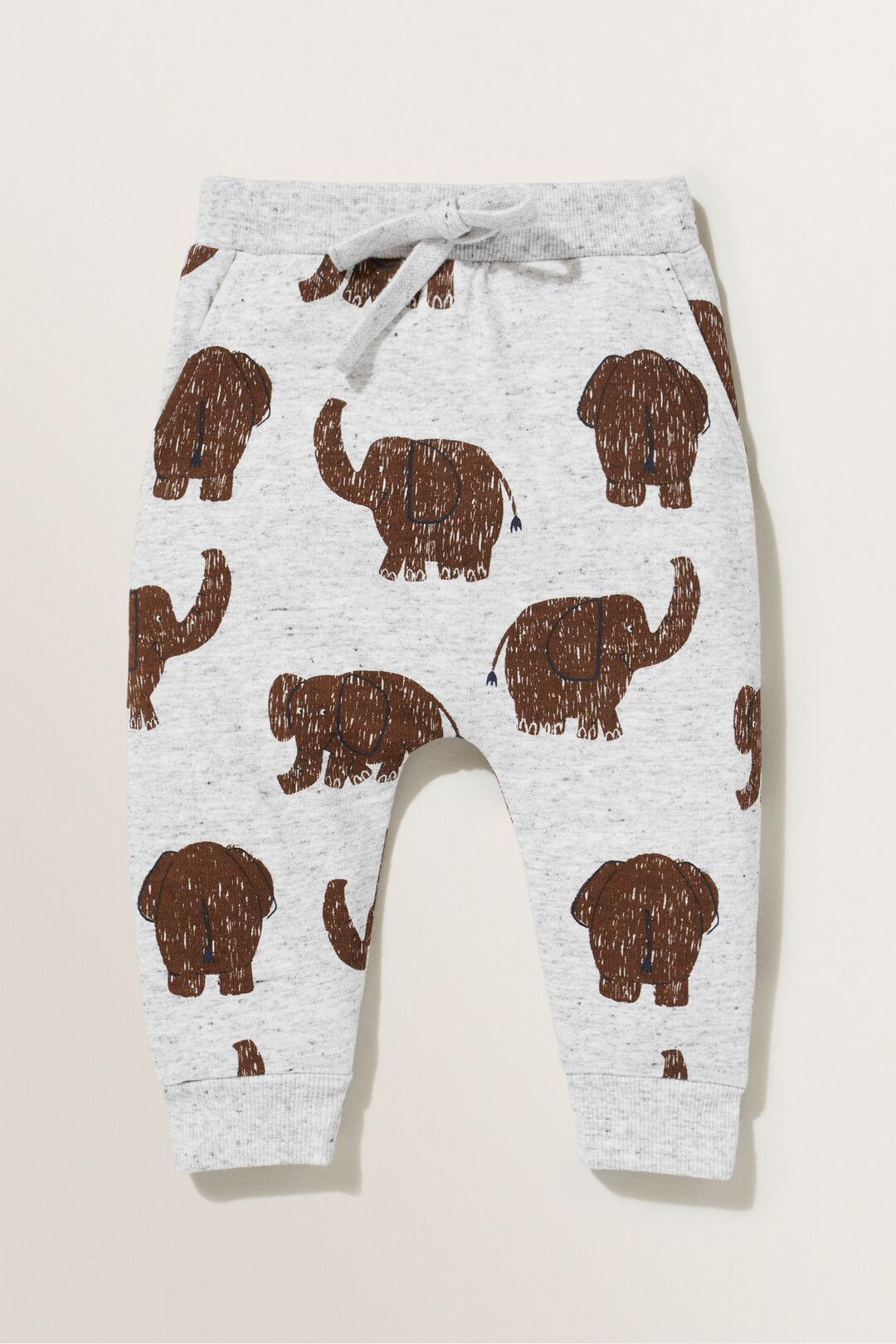 Elephant Trackpants  CLOUDY MARLE  hi-res