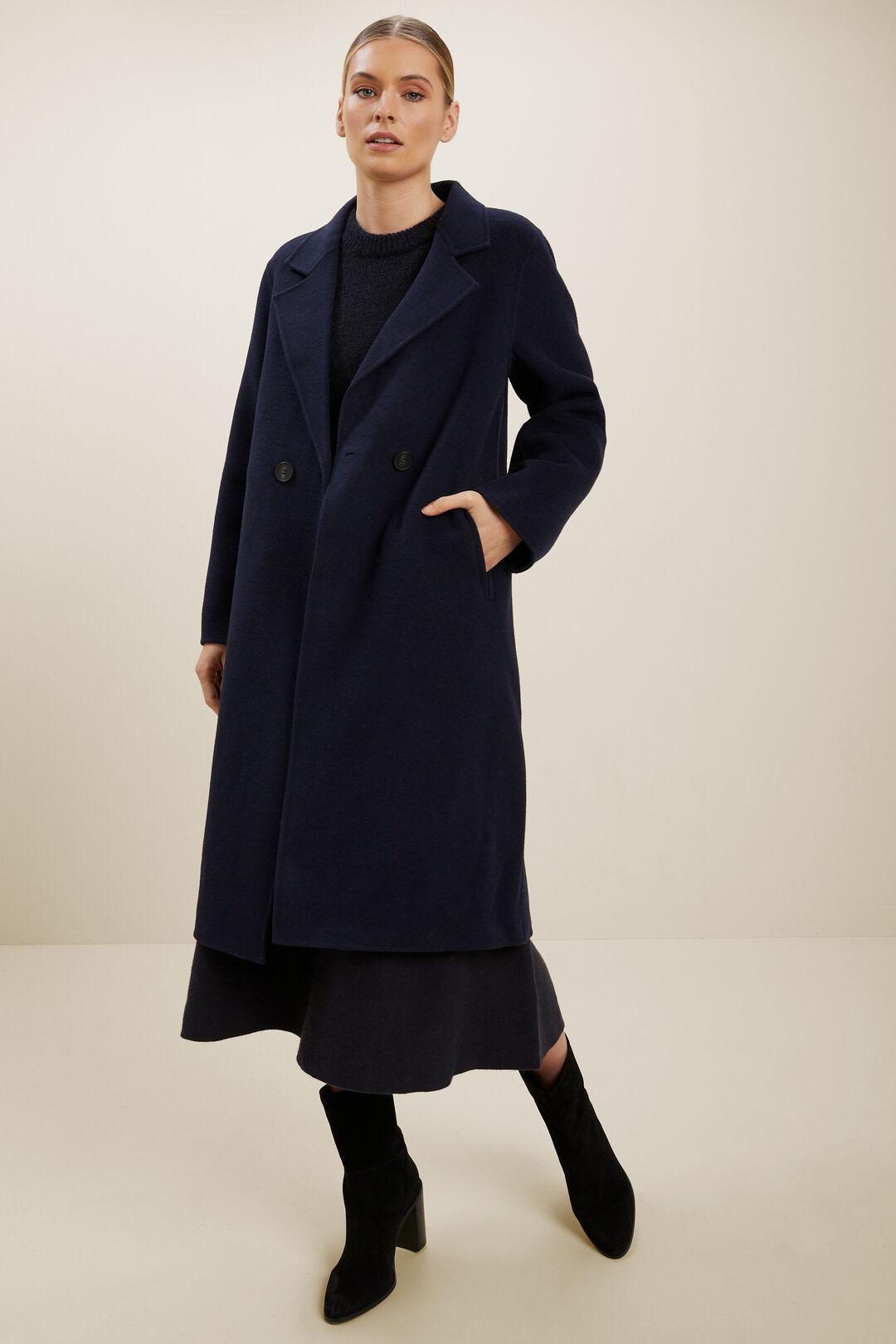 Knit A-Line Skirt  DEEP NAVY  hi-res