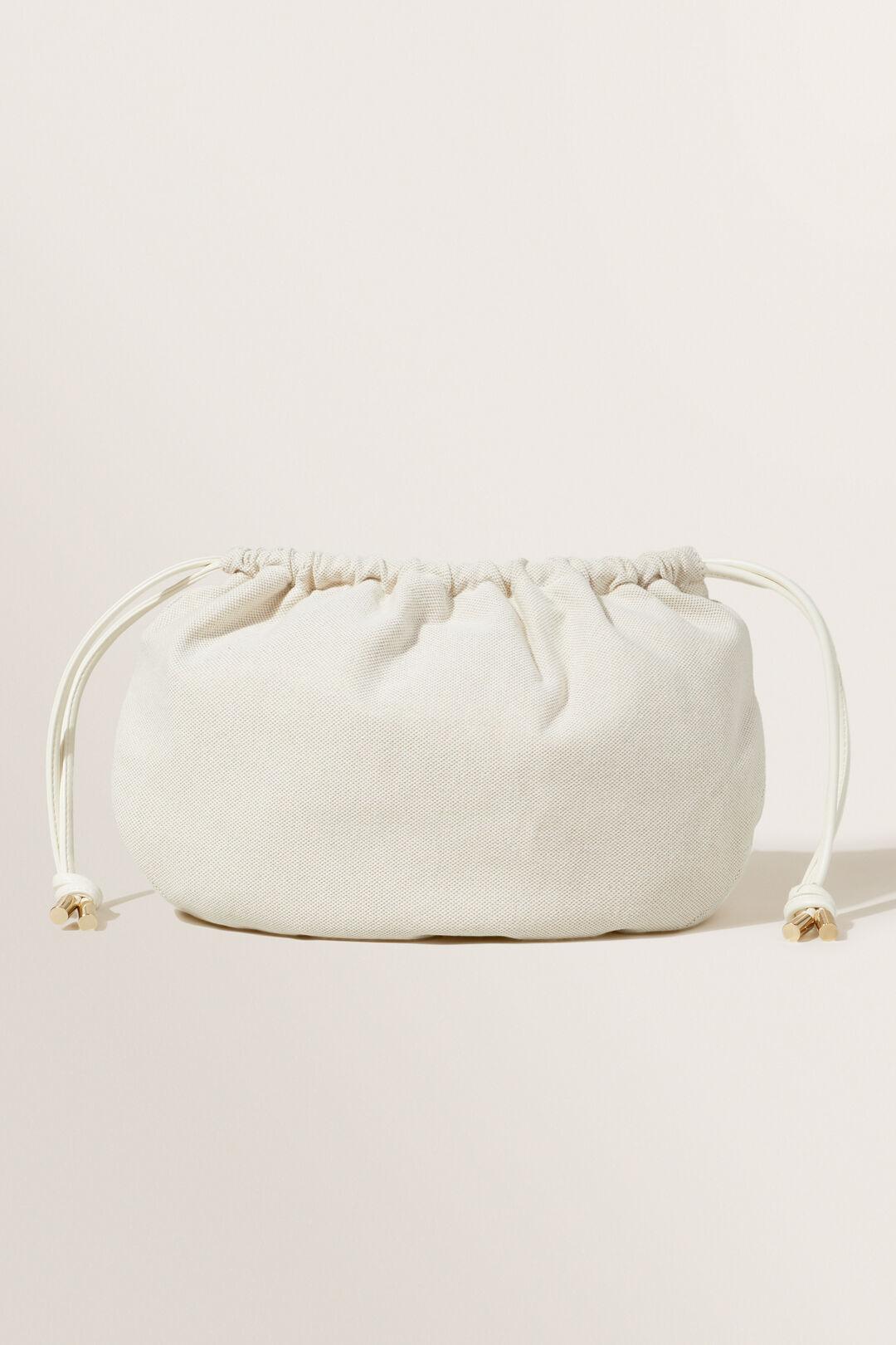 Small Spliced Bag  FRENCH VANILLA  hi-res