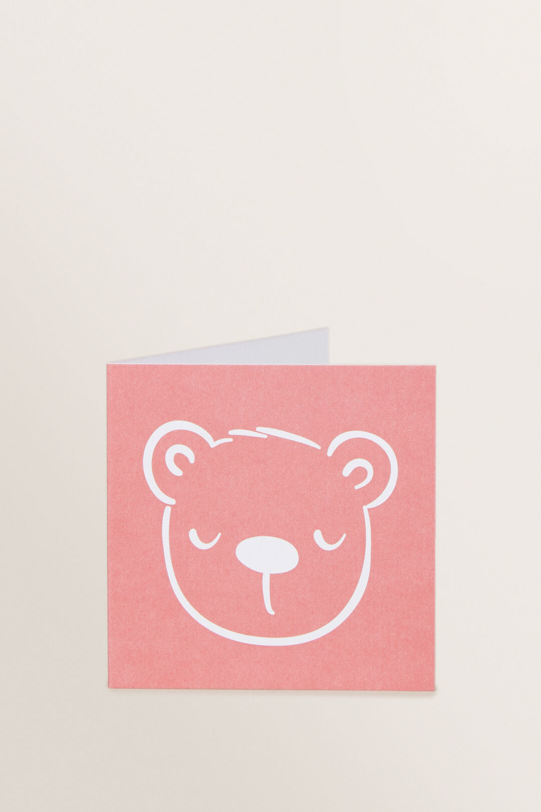 Small Red Bear Card  MULTI  hi-res