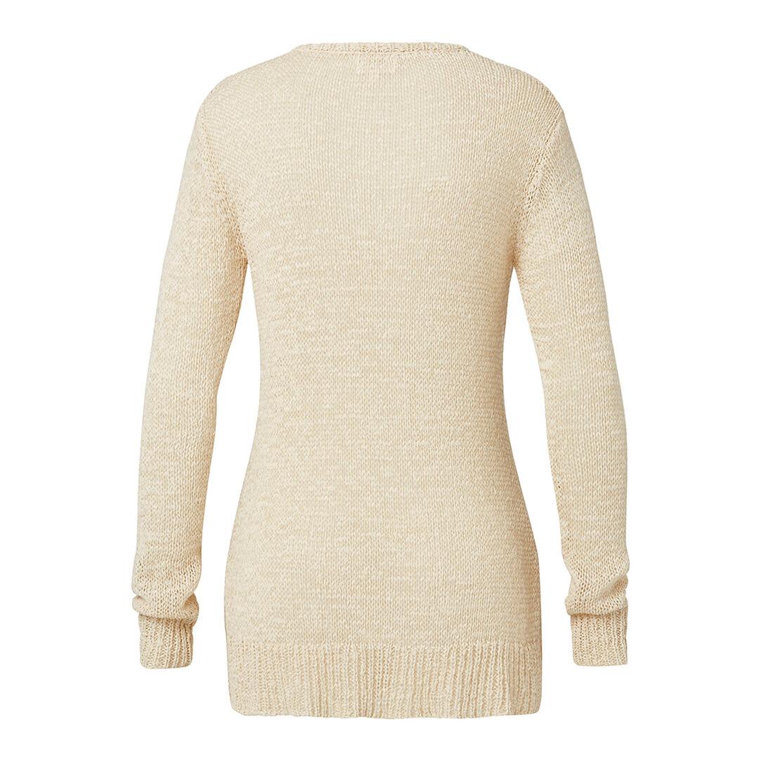 Tape Yarn Sweater  NATURAL  hi-res