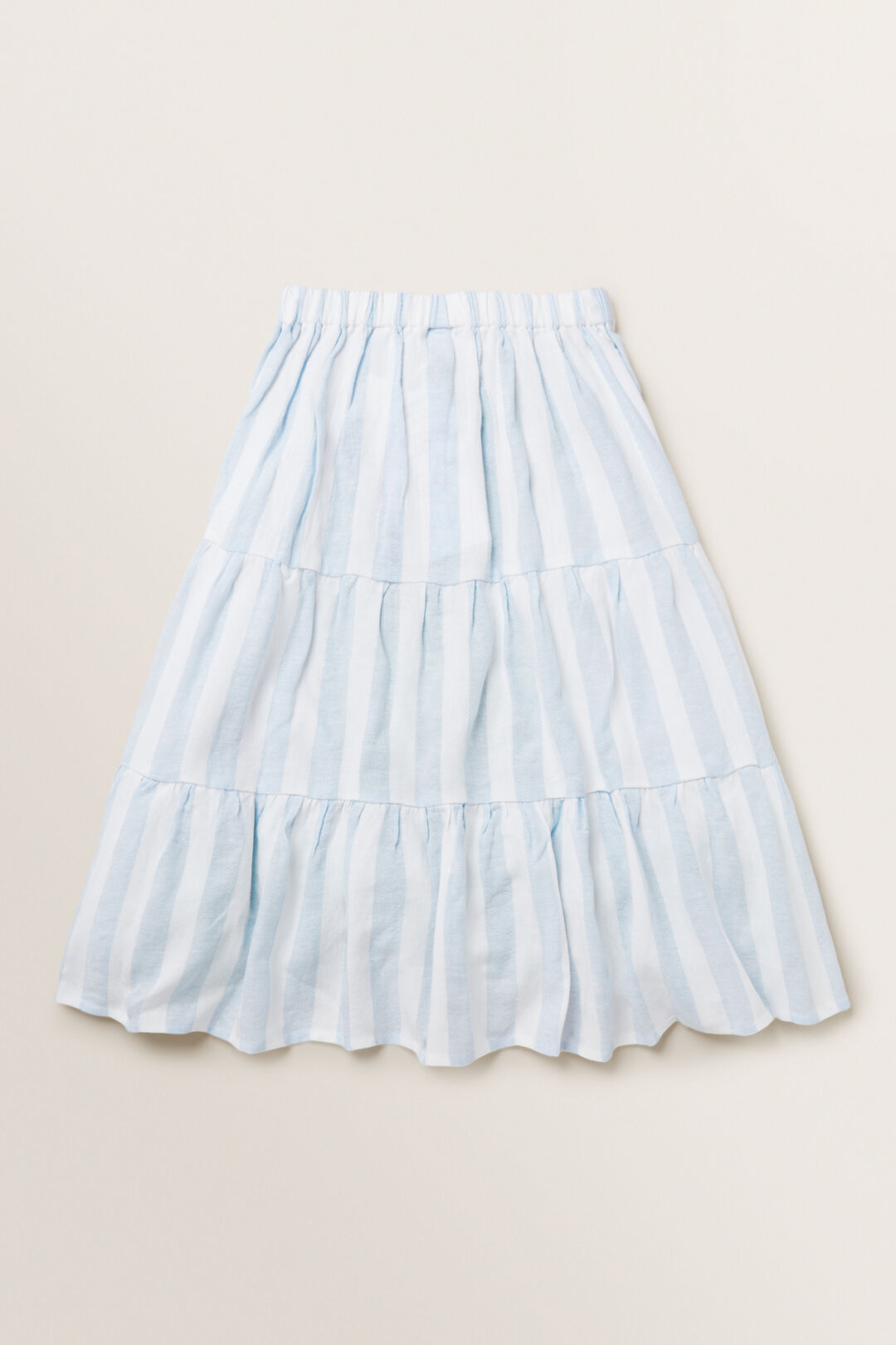 Stripe Skirt  BABY BLUE  hi-res