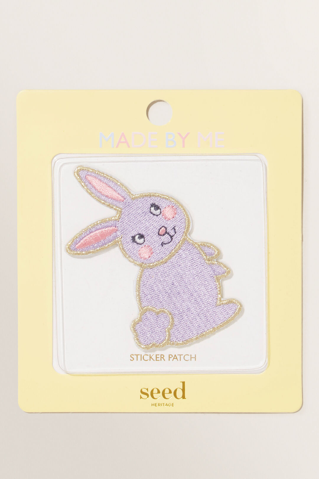 Made By Me Motif Patch  BUNNY  hi-res