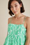 Tiered Paisley Cami  GREEN PAISLEY  hi-res