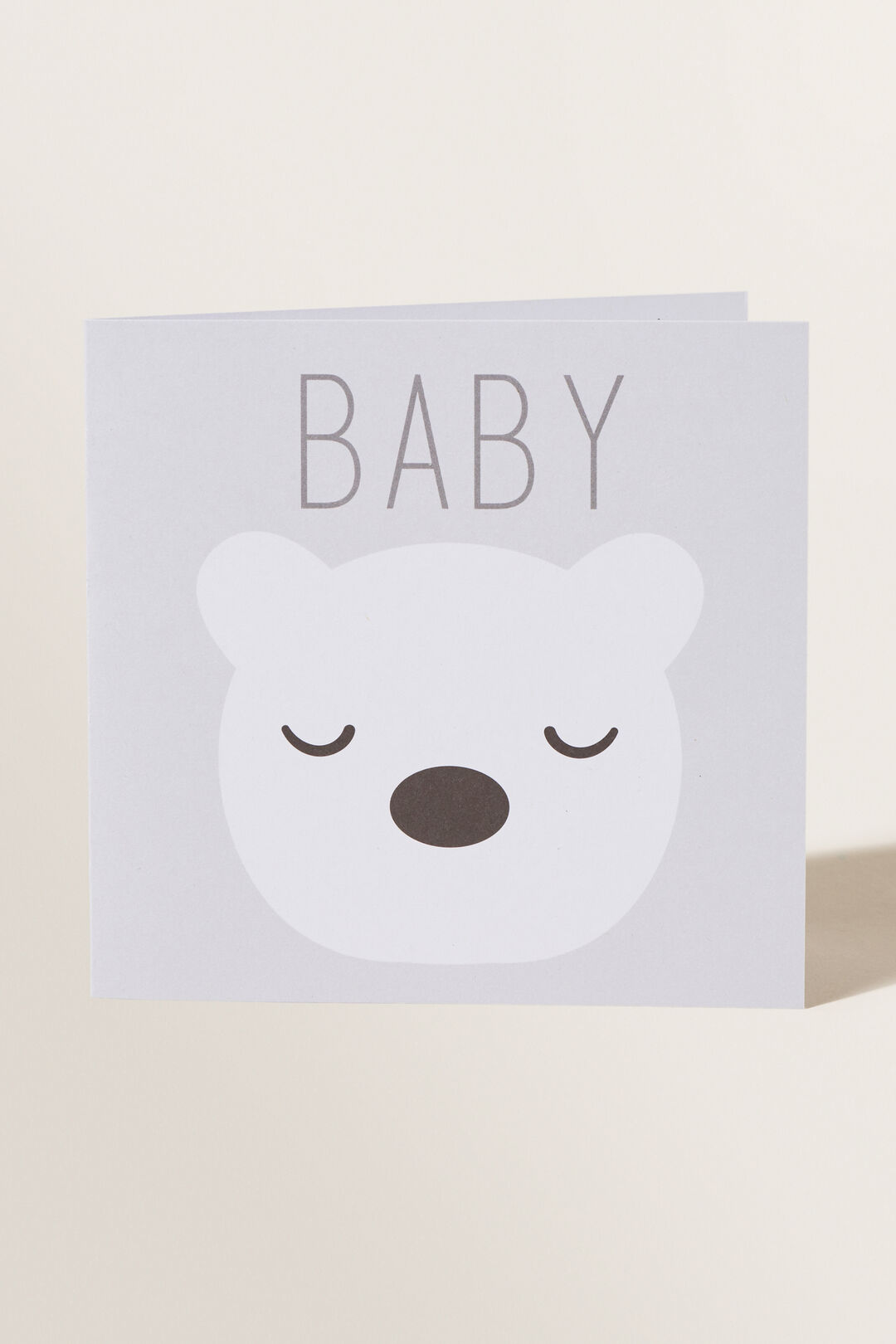 Large Baby Bear Card  MULTI  hi-res