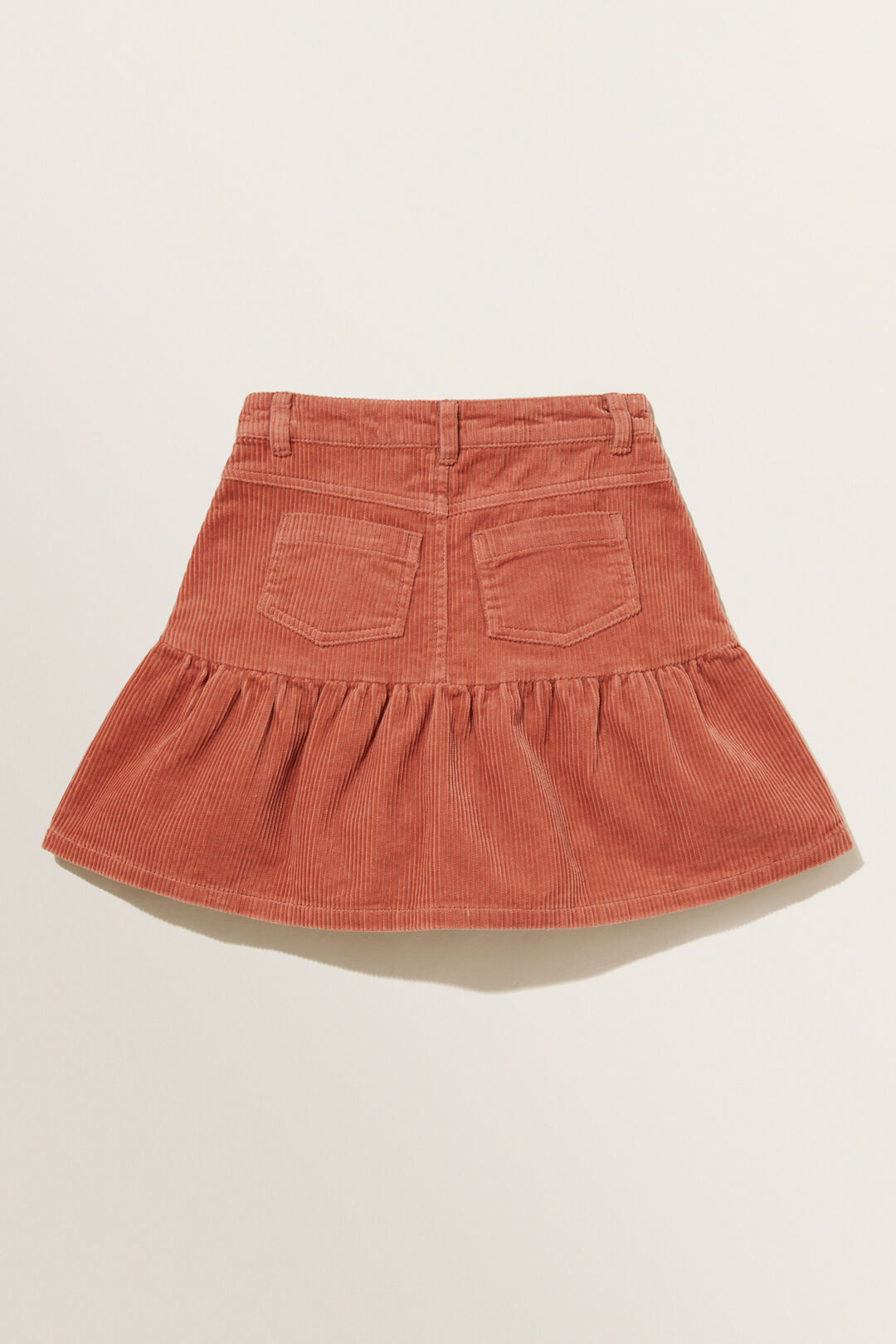 Corduroy Skirt  CLAY  hi-res
