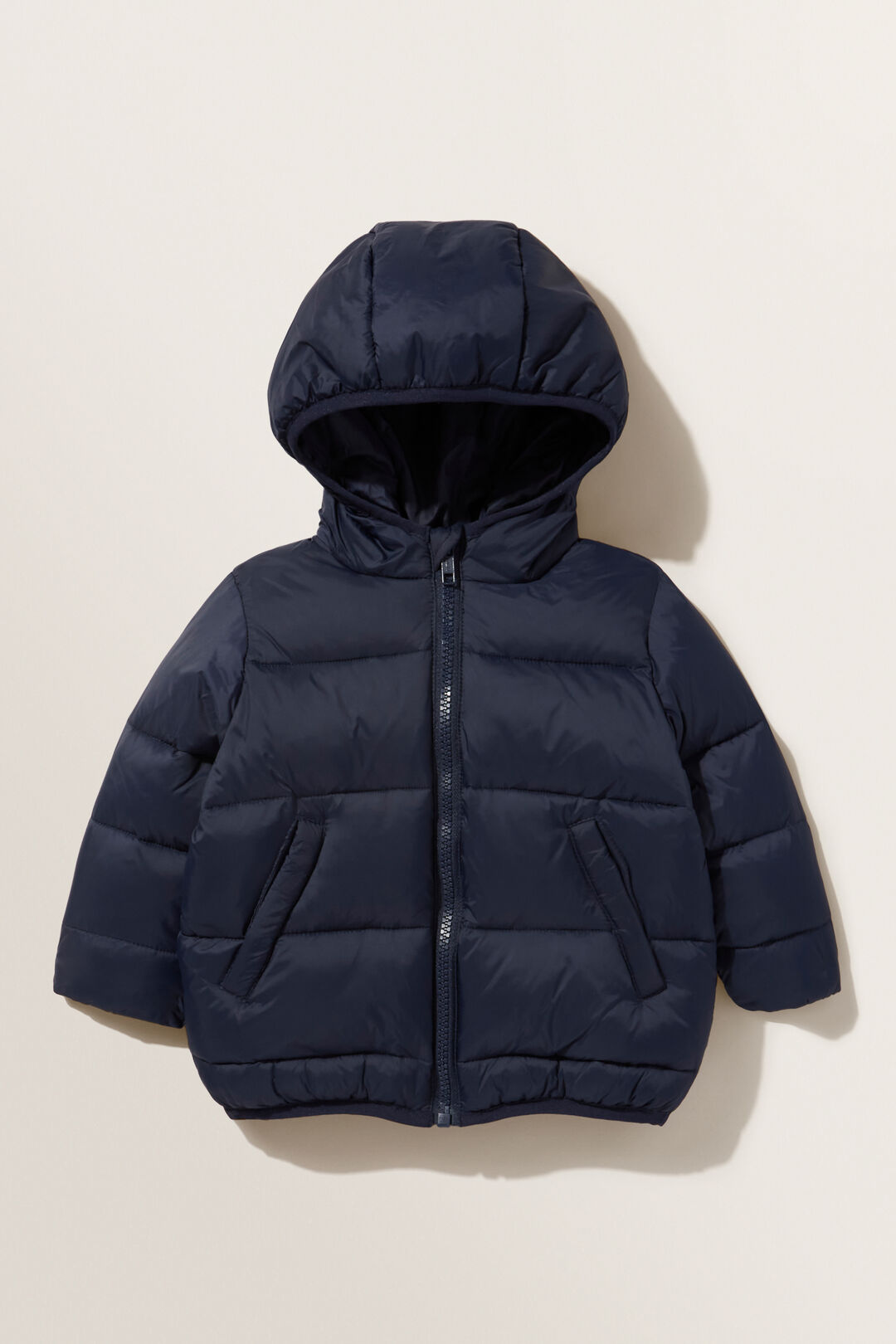 Classic Hooded Puffer Jacket  MIDNIGHT BLUE  hi-res