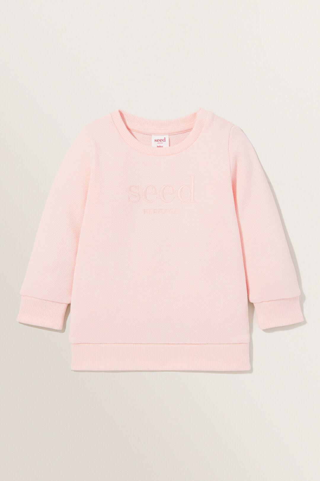 Essential Logo Sweater  DUSTY ROSE  hi-res